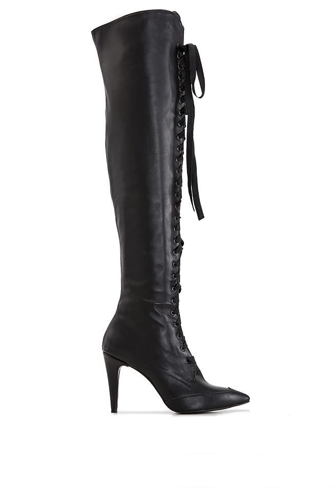Leather boots Ana Kaloni image 0