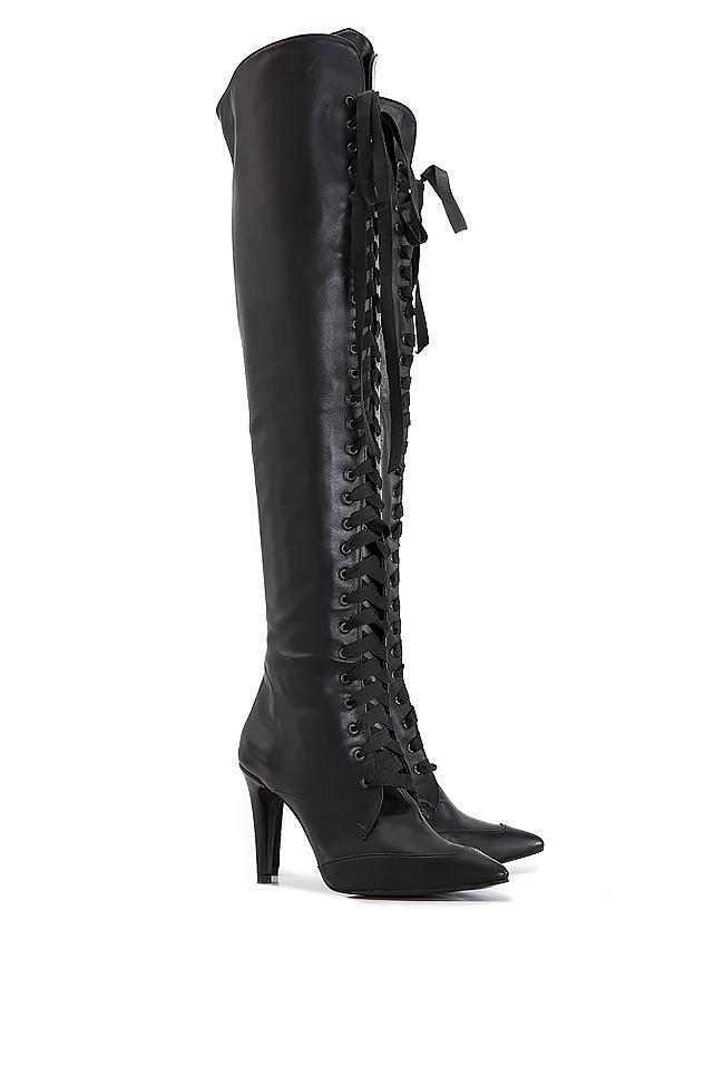 Leather boots Ana Kaloni image 1