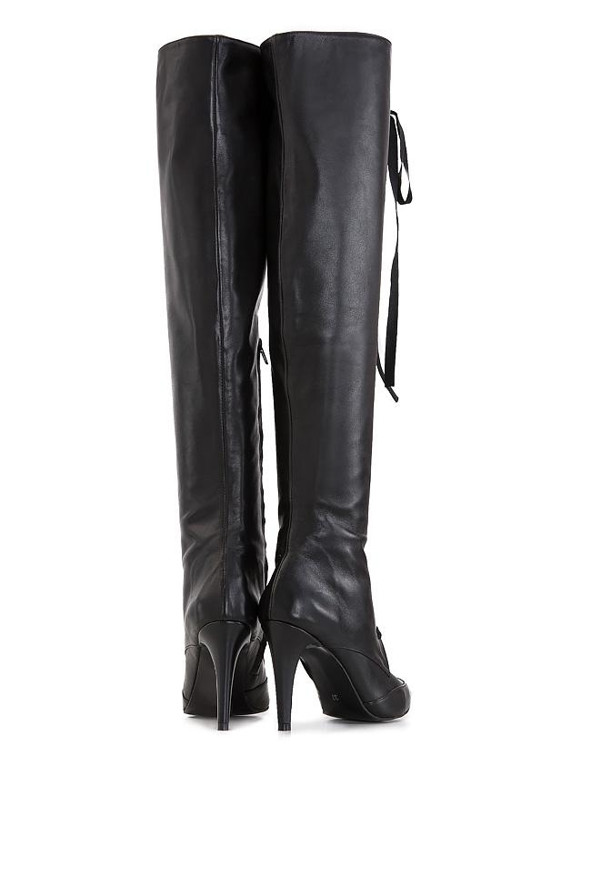 Leather boots Ana Kaloni image 2