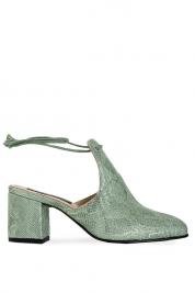 Cristina Maxim Pantofi din piele tip sarpe Arizona