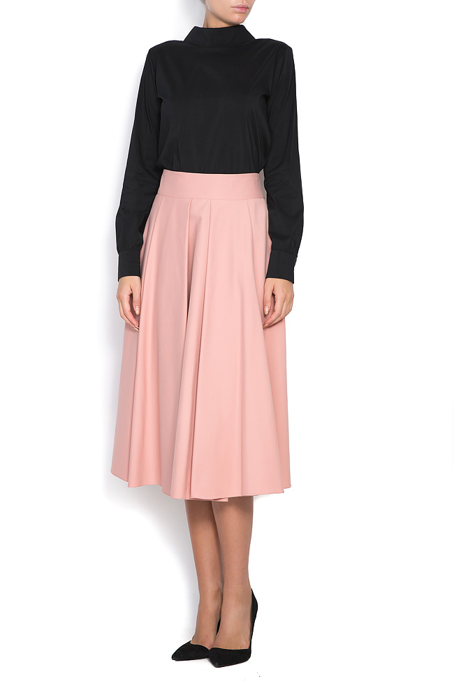 Cotton-blend skirt Ronen Haliva image 1