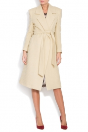 Zenon Belted wool coat