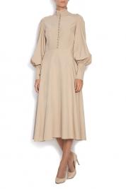 Ronen Haliva Cupro midi dress