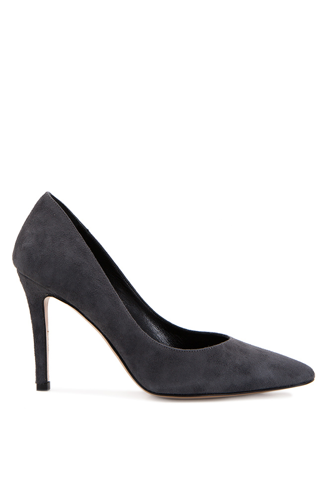 Suede leather pumps Ginissima image 0