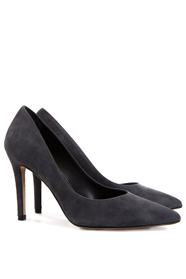 Suede leather pumps Ginissima image 1