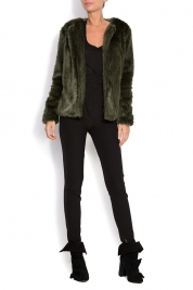 Shakara Piper faux fur jacket