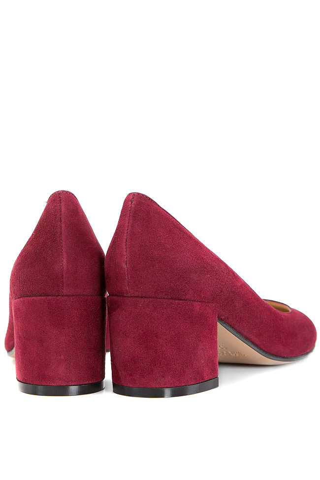 Suede pumps Ginissima image 2