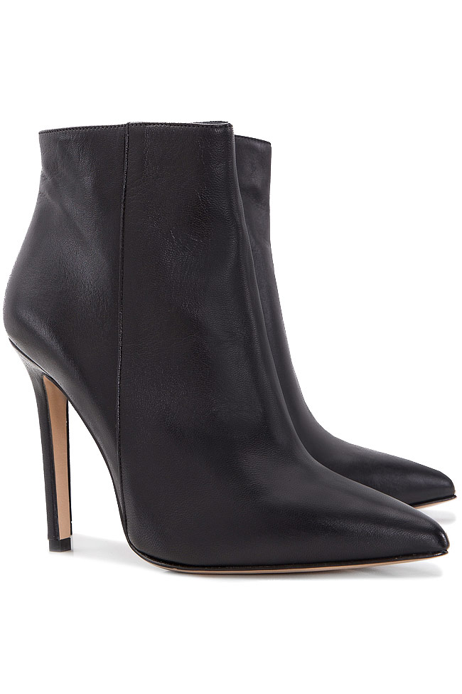Leather ankle boots Ginissima image 1