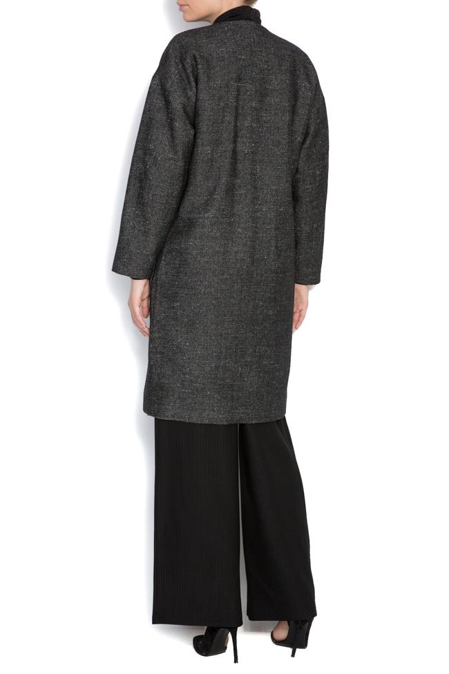 Palton din lana Undress imagine 3