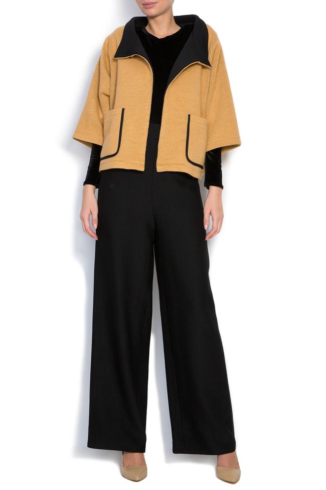 Wool-blend cardigan Larisa Dragna image 0