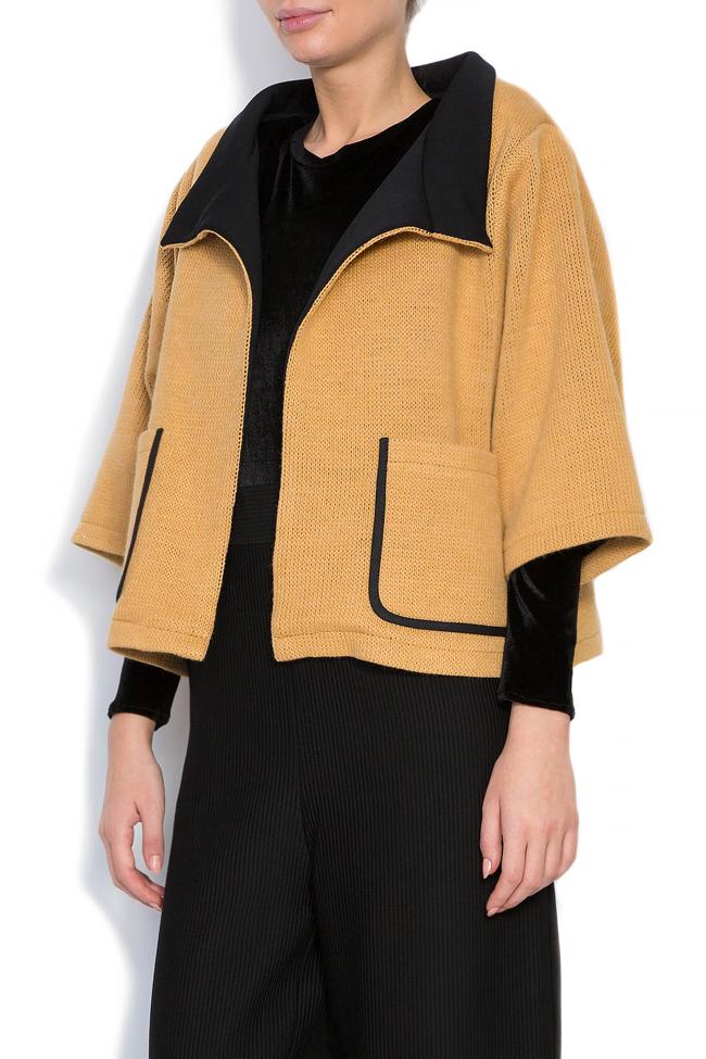 Wool-blend cardigan Larisa Dragna image 1