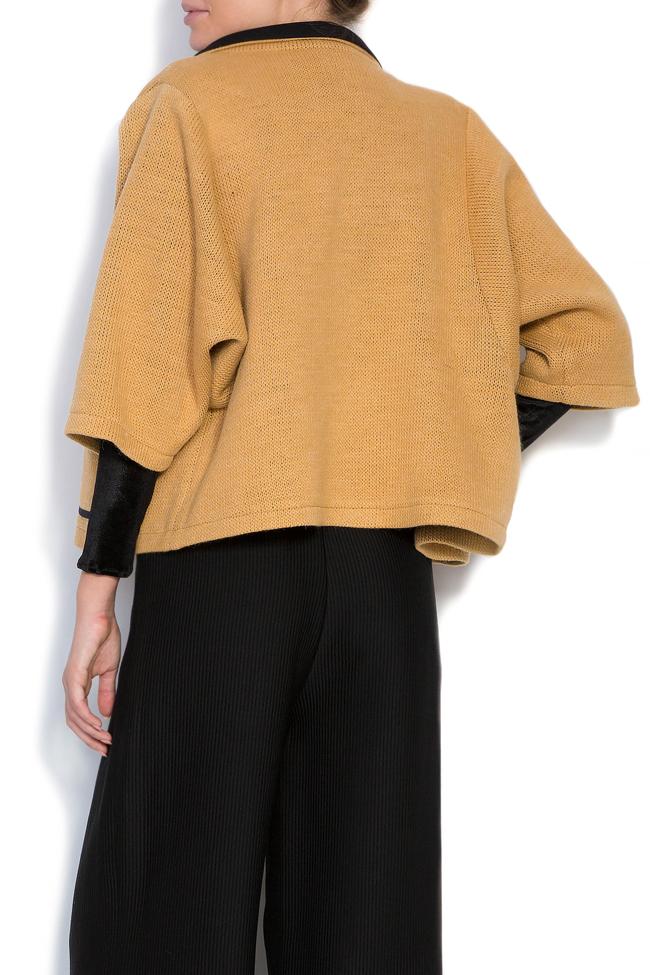 Wool-blend cardigan Larisa Dragna image 2