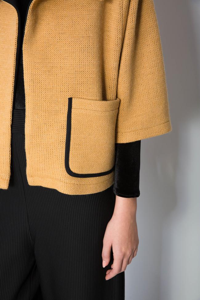 Wool-blend cardigan Larisa Dragna image 3