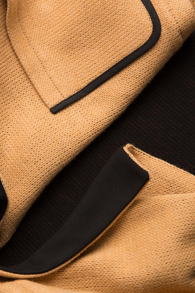 Wool-blend cardigan Larisa Dragna image 4