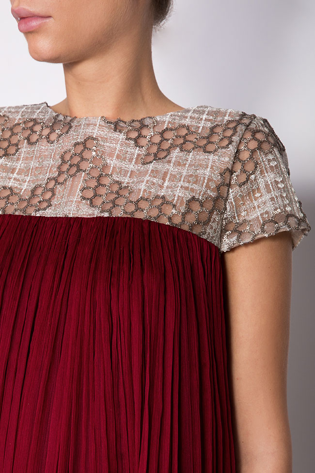 Robe en soie mousseline Alesia Maia Ratiu image 3