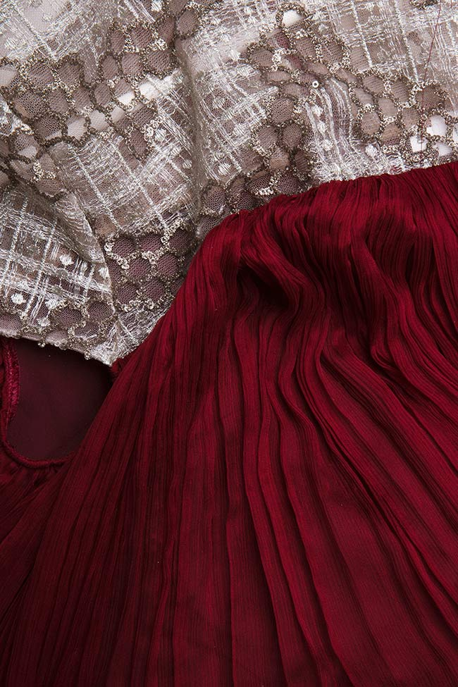 Robe en soie mousseline Alesia Maia Ratiu image 4