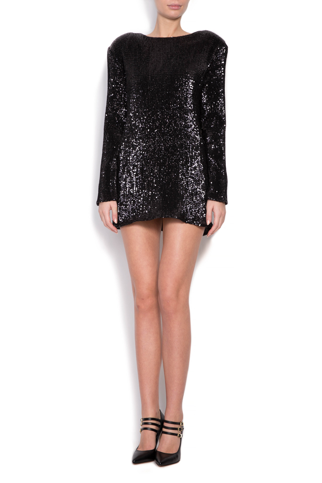 Sequin mini dress Cloche image 1