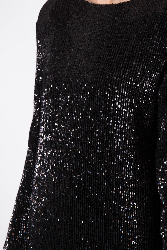 Sequin mini dress Cloche image 3