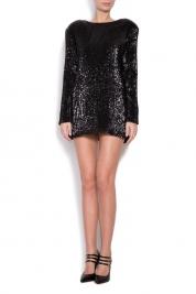 Cloche Sequin mini dress
