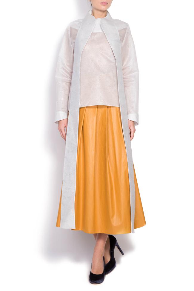 Faux leather skirt Daniela Barb image 0