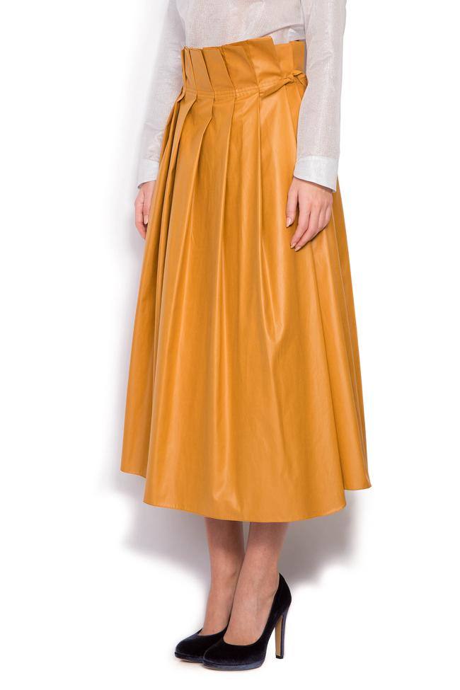 Faux leather skirt Daniela Barb image 1