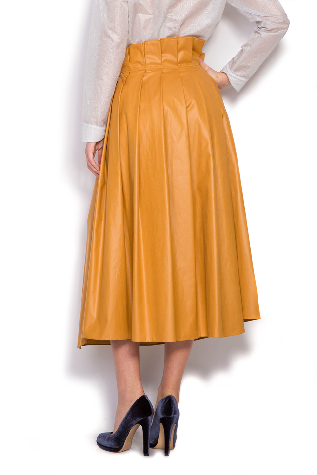 Faux leather skirt Daniela Barb image 2