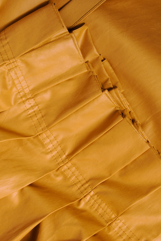 Faux leather skirt Daniela Barb image 4
