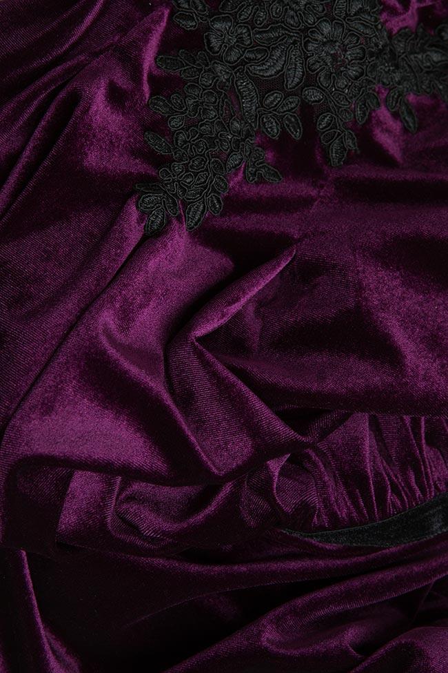 Robe en velours à dos nu Bien Savvy image 4