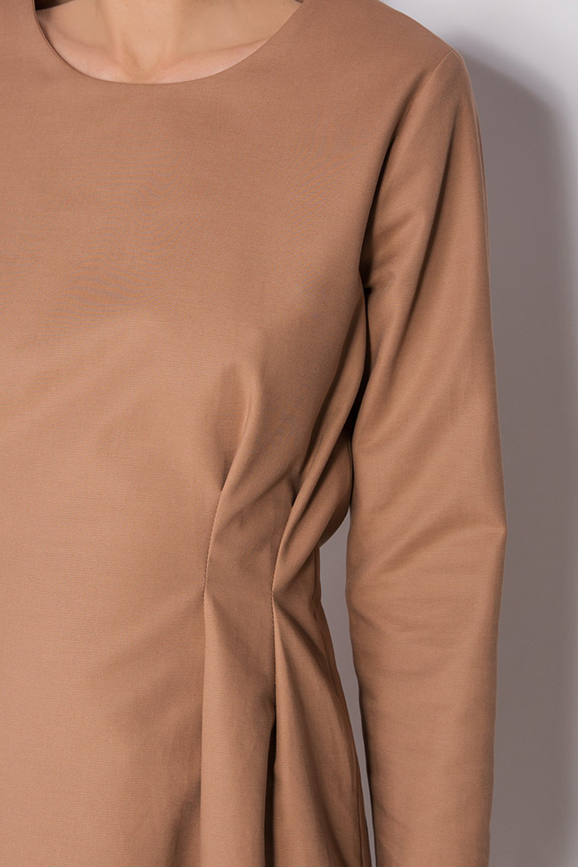 Rochie din amestec de bumbac Undress imagine 3