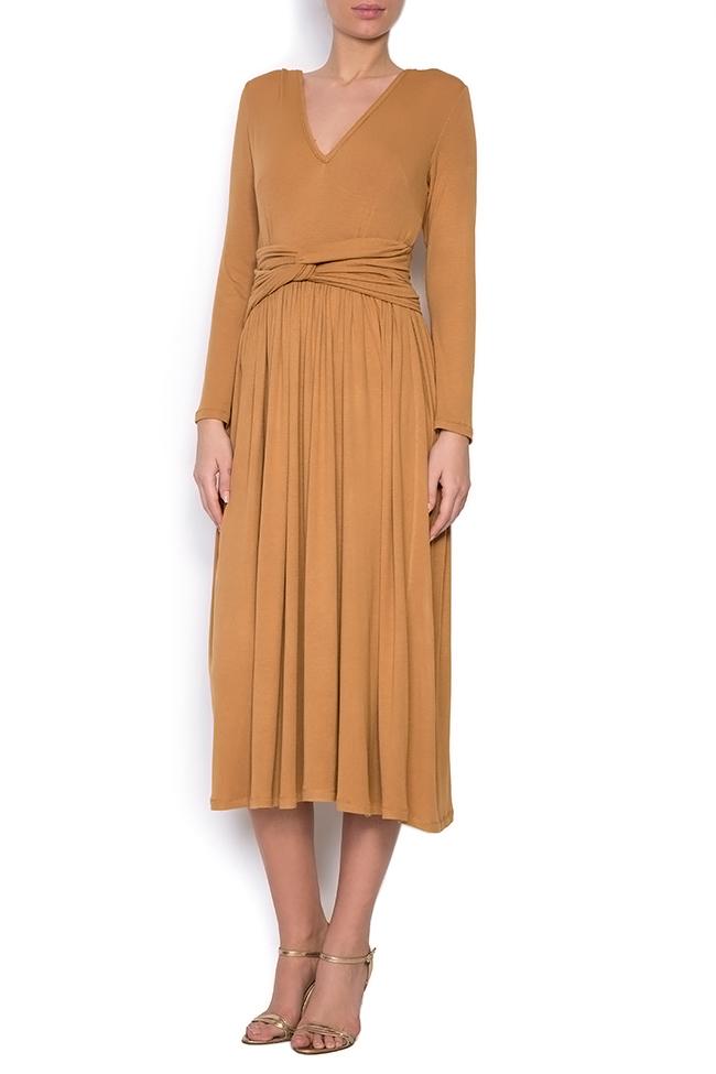 Ribbed cotton midi dress Izabela Mandoiu image 0