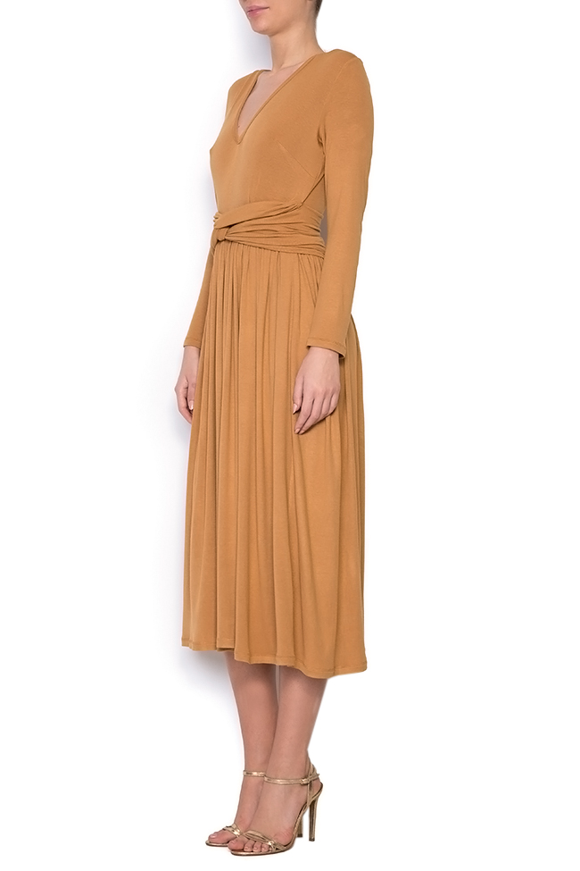 Ribbed cotton midi dress Izabela Mandoiu image 1