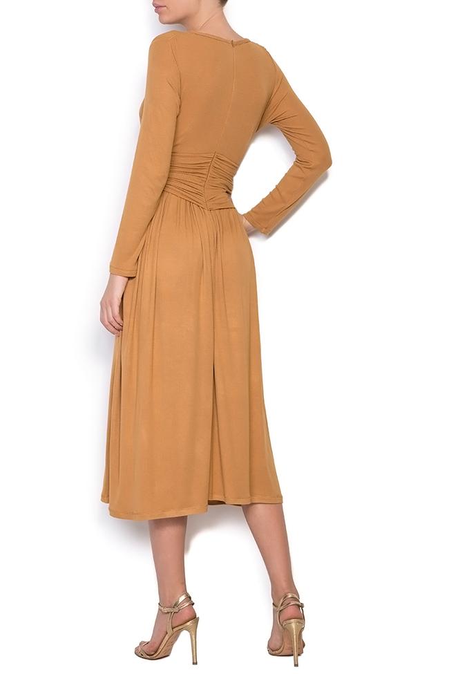 Ribbed cotton midi dress Izabela Mandoiu image 2