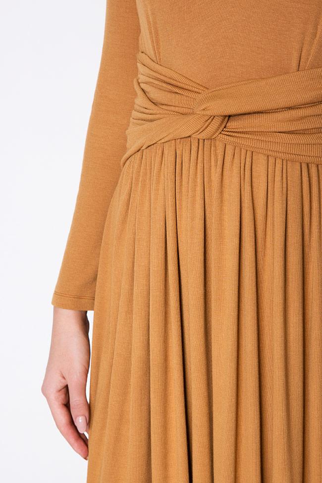 Ribbed cotton midi dress Izabela Mandoiu image 3