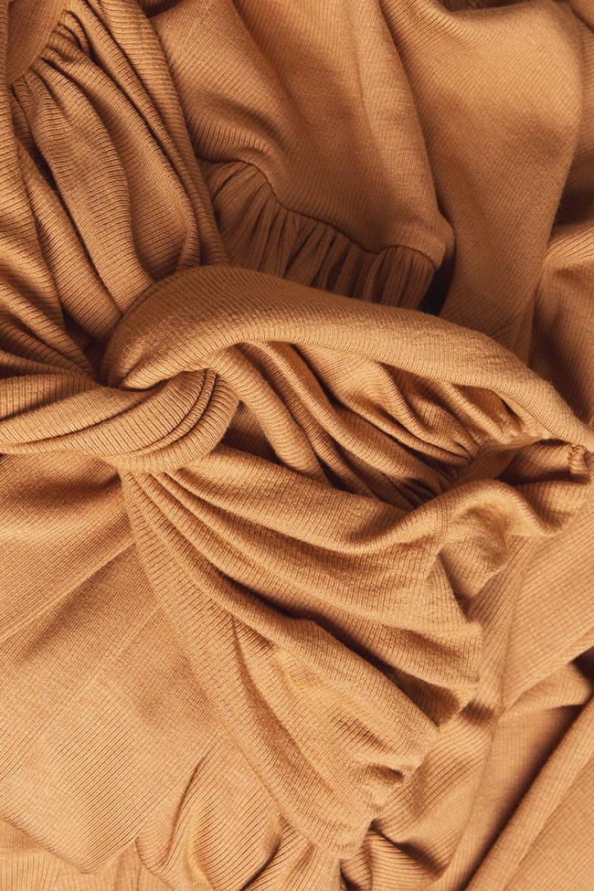 Ribbed cotton midi dress Izabela Mandoiu image 4
