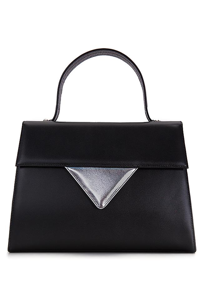 Two-tone leather bag Laura Olaru image 0