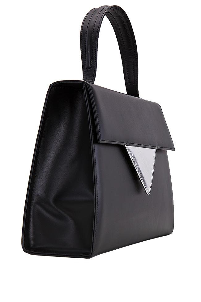 Two-tone leather bag Laura Olaru image 1
