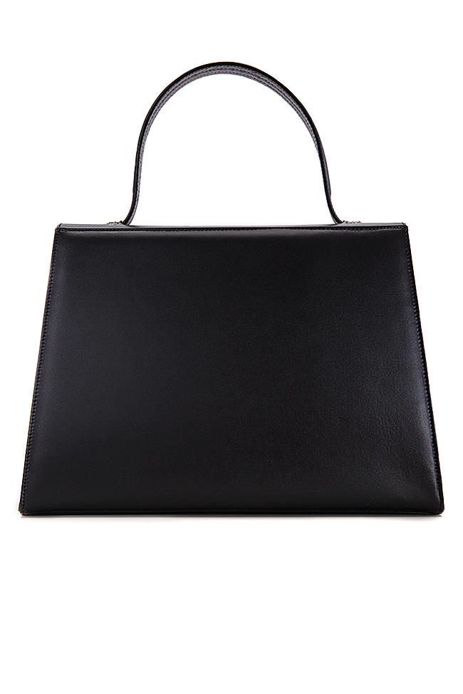 Two-tone leather bag Laura Olaru image 2