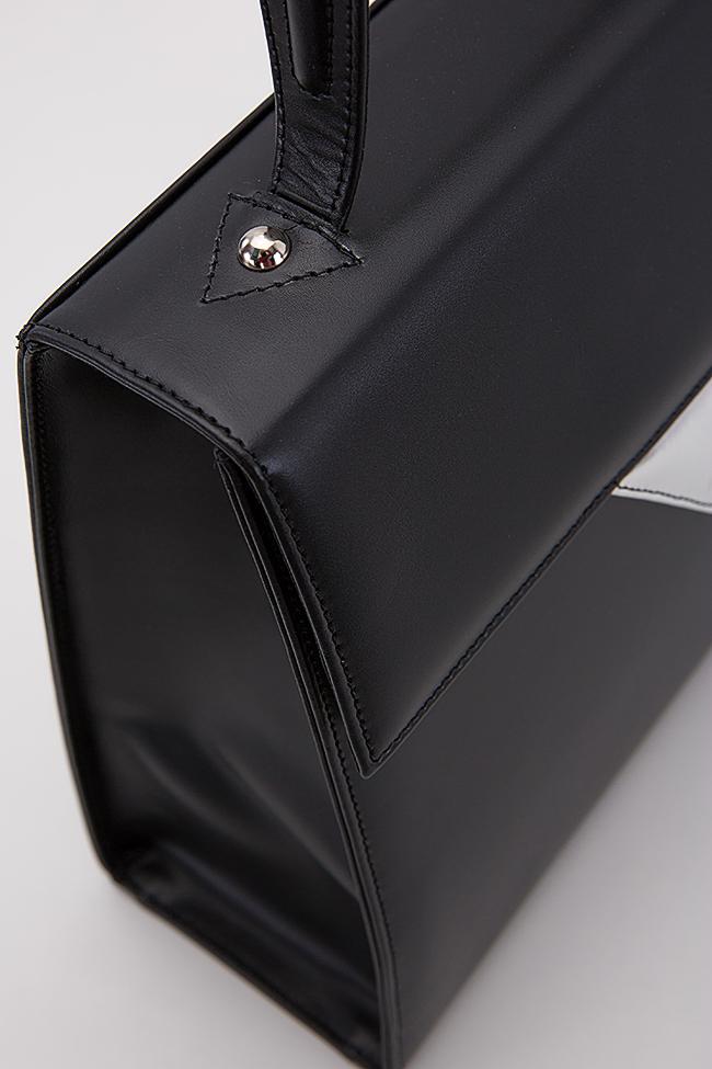 Two-tone leather bag Laura Olaru image 3