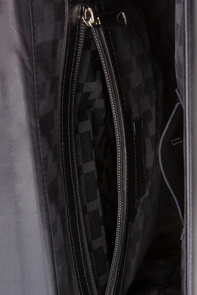 Two-tone leather bag Laura Olaru image 4