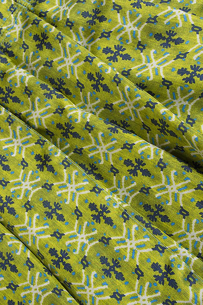 Jupe en soie imprimé Daniela Barb image 4
