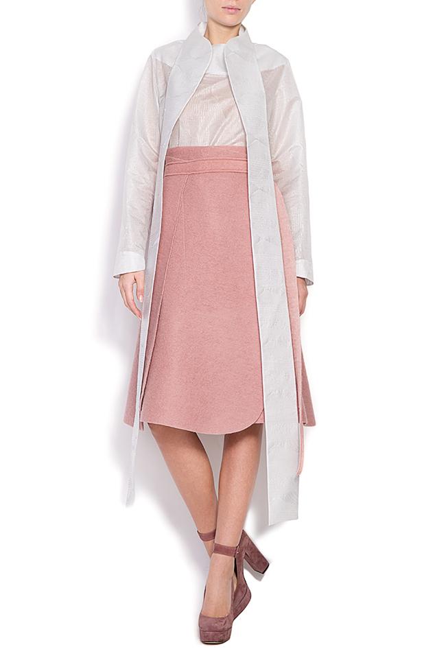Wrap wool skirt Daniela Barb image 0