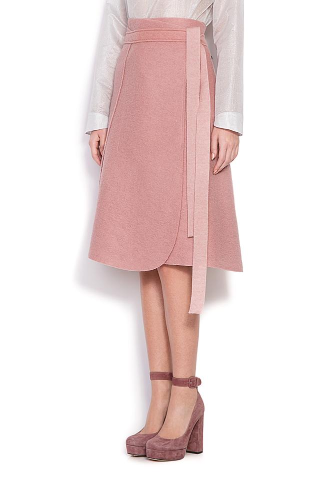 Wrap wool skirt Daniela Barb image 1