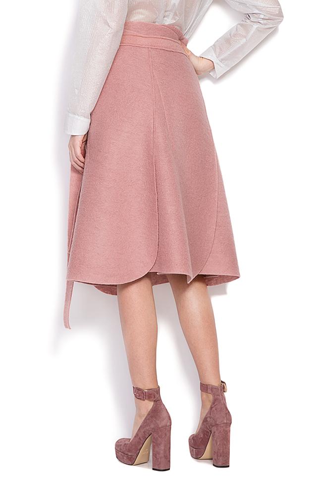 Wrap wool skirt Daniela Barb image 2