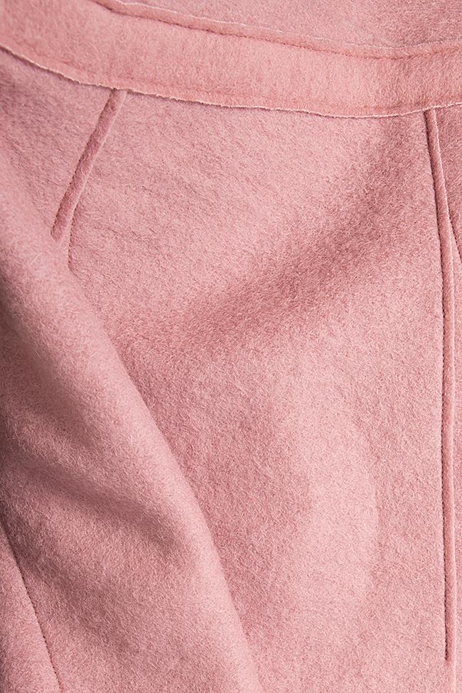 Wrap wool skirt Daniela Barb image 4