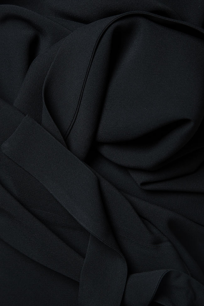 Belted crepe culottes Lena Criveanu image 4