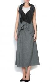 Lena Criveanu Asymmetric wool vest