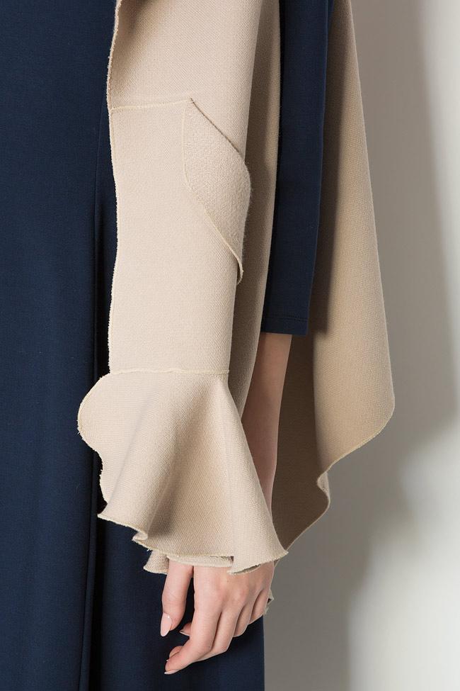 Frill wool-blend vest Lena Criveanu image 3