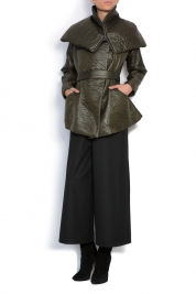 Larisa Dragna Wrap shell jacket