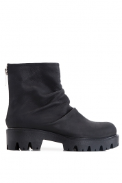 Mihaela Gheorghe Leather ankle boots