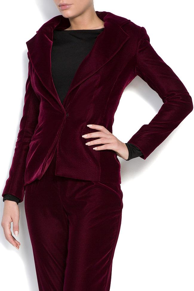Silk velvet blazer M Marquise image 1